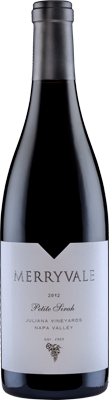 2012 Merryvale Petite Sirah Juliana Vineyards Napa Valley