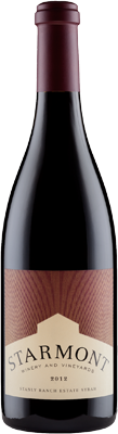 2012 Starmont Syrah Stanly Ranch Estate Carneros