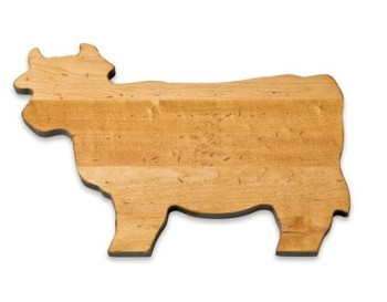Large Cow Cutting Board Image