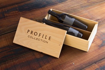 Profile and Silhouette in Wood Box