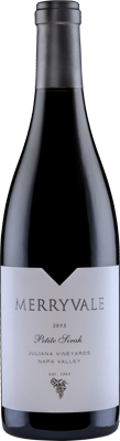 2013 Merryvale Petite Sirah Juliana Vineyards