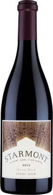2014 Starmont Pinot Noir Brown Ranch