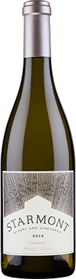 2014 Starmont Pinot Gris