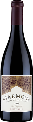 2014 Starmont Pinot Noir Lee Vineyard Image