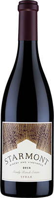 2014 Starmont Syrah Stanly Ranch Estate