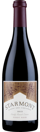 2015 Starmont Pinot Noir Stanly Ranch Estate