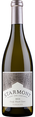 2015 Starmont Viognier, Stanly Ranch Estate