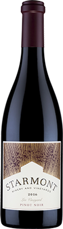 2016 Starmont Pinot Noir Lee Vineyard