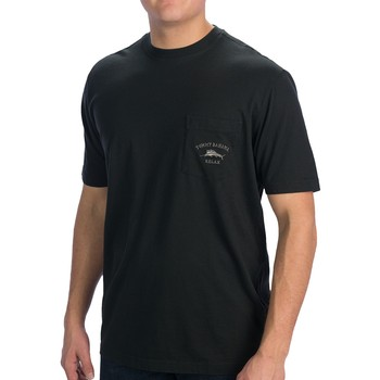 T Shirts Blk Palm Cove