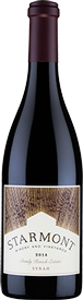 2014 Starmont Syrah, Stanly Ranch Estate